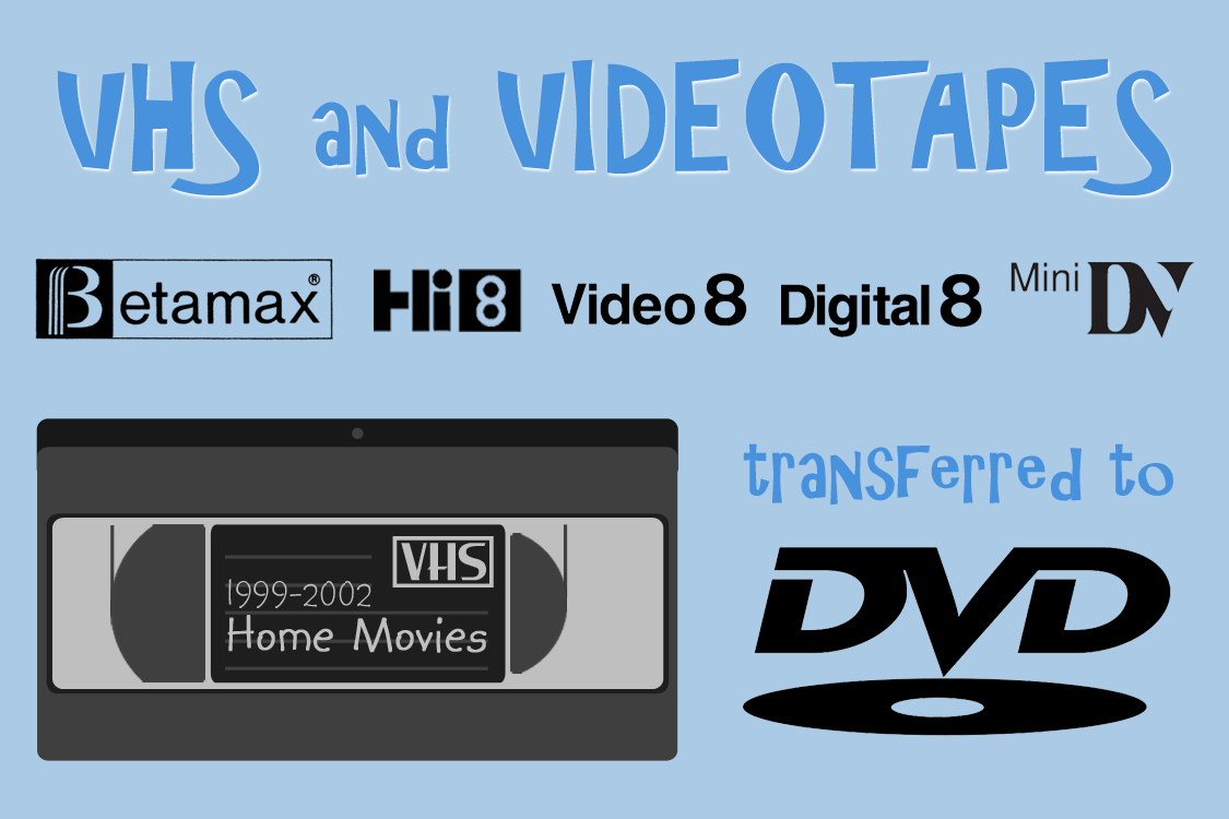 O.K. Video VHS/Tape to DVD